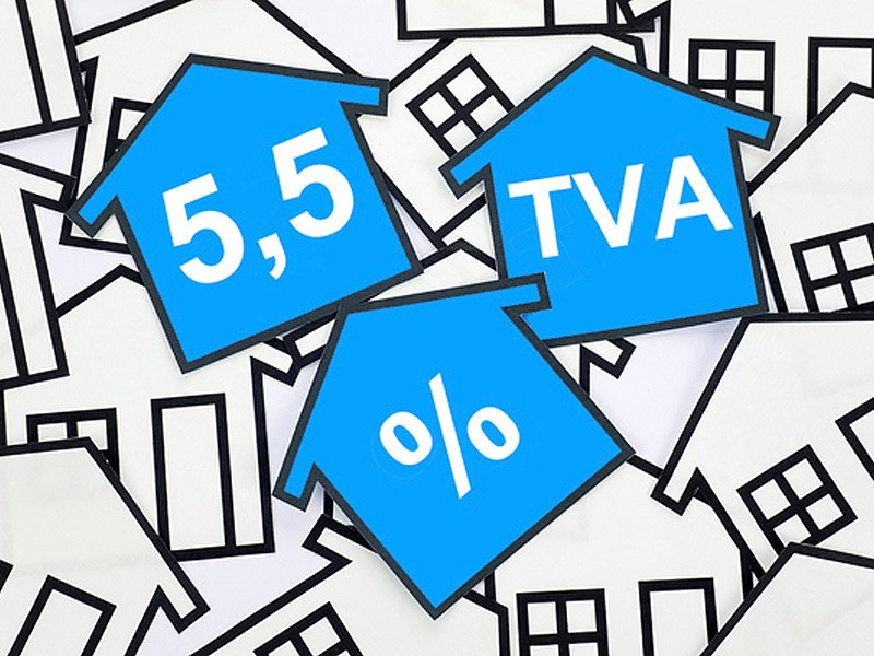 Reconduction de la TVA à 5,5%